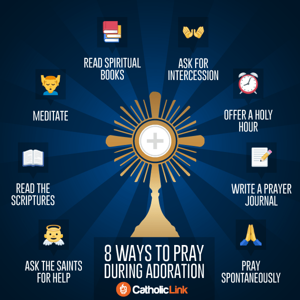 How to Pray in Adoration