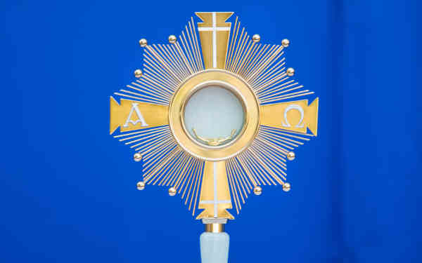 what is eucharistic adoration