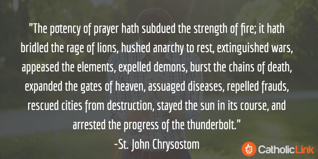 Saint John Chrysostom Quotes