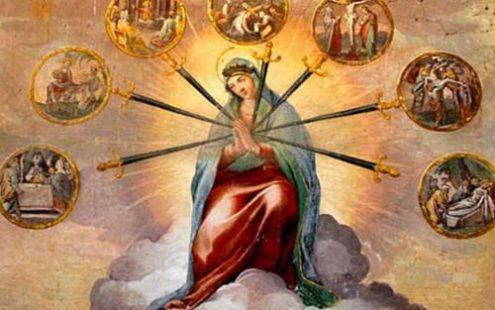 Seven sorrows Our lady of sorrows