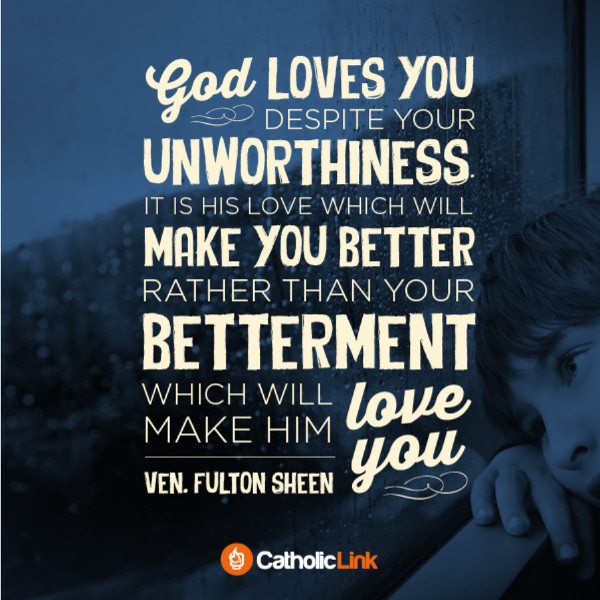 gospel reflection ven. Fulton Sheen