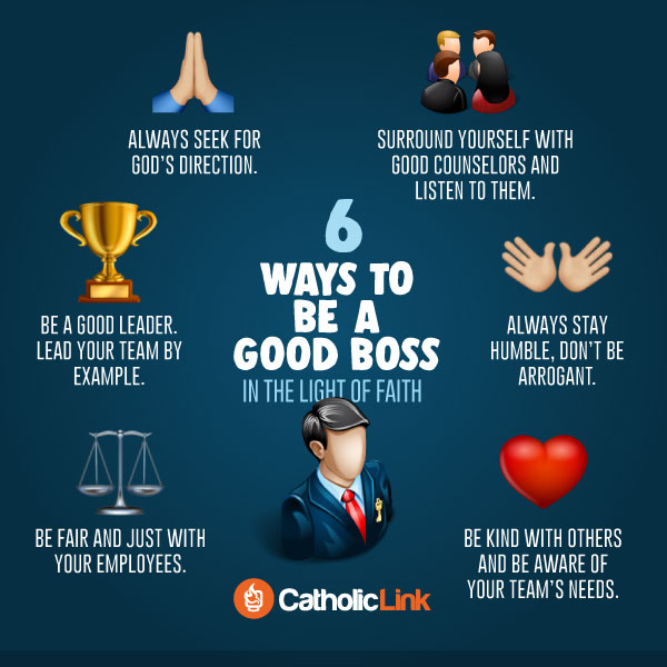 6 Ways To Be A Good Boss