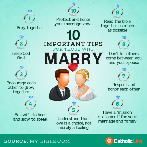 Infographic: 10 Important Tips for Married Couples