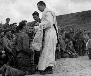military chaplains Fr.Emil Kapaun Fr. Vincent Capodanno Fr. John Francis Laboon, SJ, Fr. Aloysius H. Schmitt and Fr. Joseph T. O'Callahan