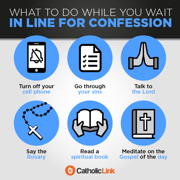 What To Do While Waiting In Line For Confession