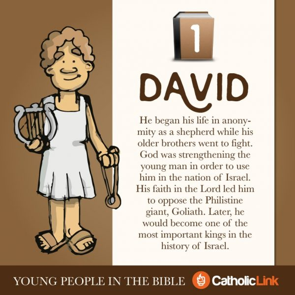 Get To Know The Young People Of The Bible King David