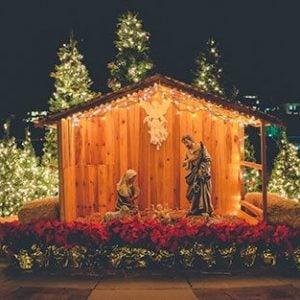 Nativity Scene Blessing Catholic Nativity