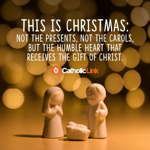 This is Christmas...The Gift Of Christ Catholic Christmas Quote