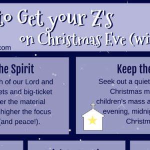 christmas eve sleep tips for kids catholic