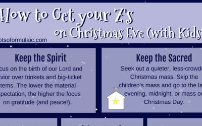 4 Ways To Reclaim The True Meaning Of Christmas For Children + Bedtime Tips For Christmas Eve!