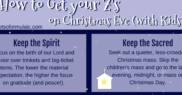 christmas eve sleep tips for kids catholic