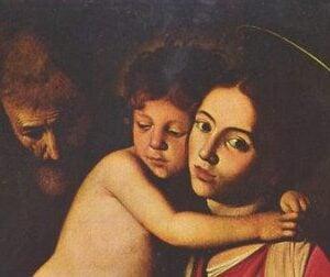 Holy Family Caravaggio