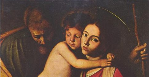 Holy Family Caravaggio