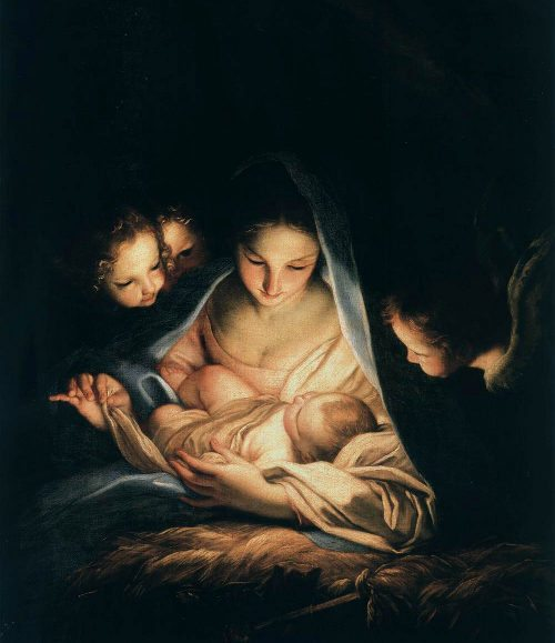 The Holy Night Maratta Nativity