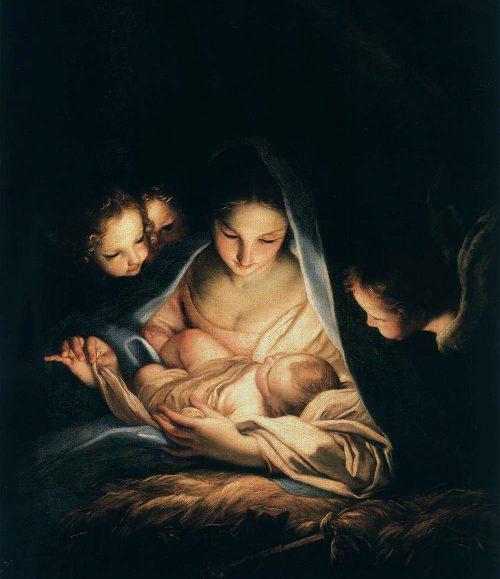 The Holy Night Maratta Nativity