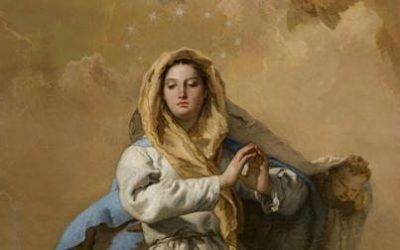 A Breathtaking Image Of The Immaculate Conception