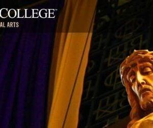 catholic social teaching Loras College banner