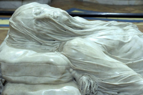 """Veiled Christ"" - Giuseppe Sanmartino, 1753 - Gospel reflection"