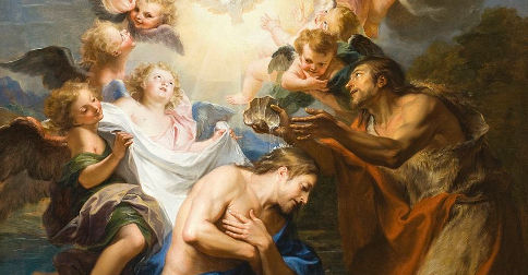 The Baptism of Christ (c. 1690), Antoine Coypel, Los Angeles County Museum of Art / public domain
