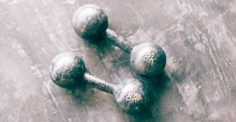 physical dumbbells