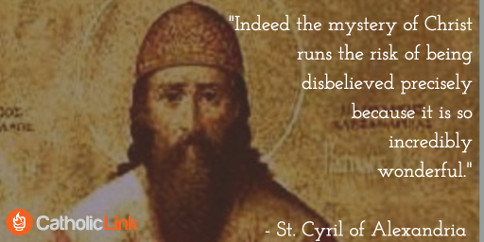 St. Cyril of Alexandria Patristic Doctor of the Church