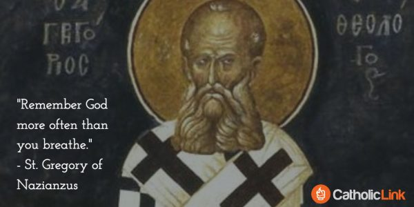 St. Gregory of Nazianzus Doctors of the Church