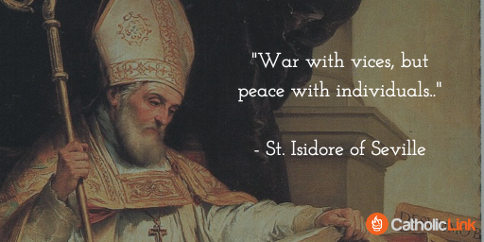St. Isidore of Seville Patristic Doctor of the Church