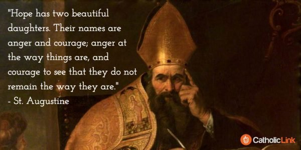Gerard Seghers (attr) - The Four Doctors of the Western Church, Saint Augustine of Hippo
