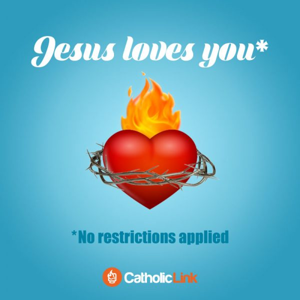 Jesus Loves You: No Restrictions Apply