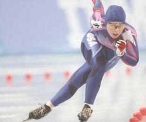 speedskater olympic nun