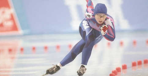 speedskater olympic nun