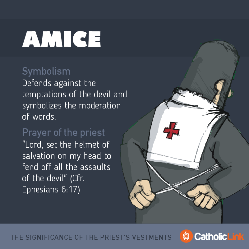 Amice What Is The Significance Of The Priest's Vestments?