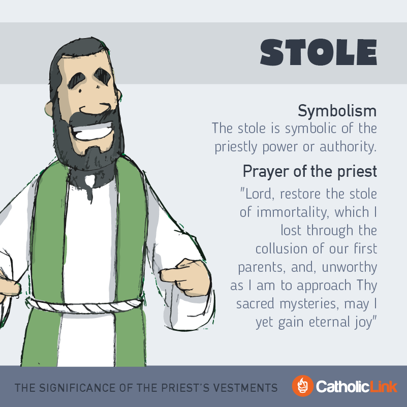 STole What Is The Significance Of The Priest's Vestments?