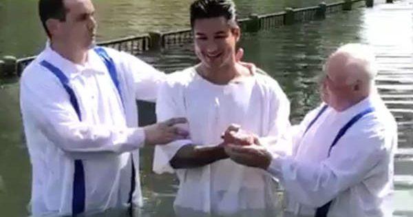 Catholic Baptism Mario Lopez