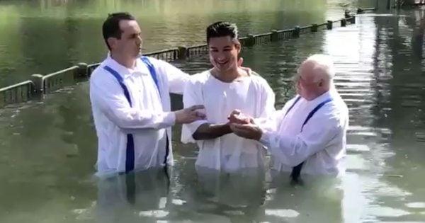 Mario Lopez Baptism Catholic