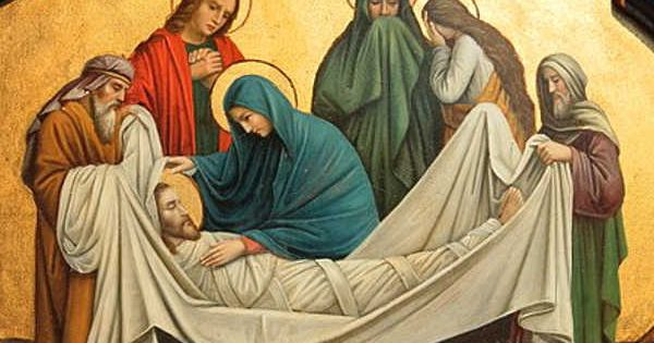 Holy Week Mary Triduum Easter
