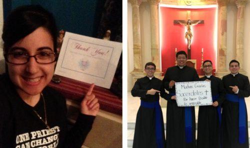 Dear Priests…Love, Millennial Catholics