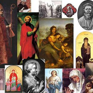 catholic saints who did not suffer, face trials, experience temptation
