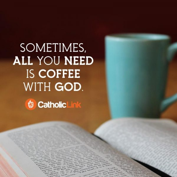 Sometimes, All You Need Is Coffee With God Quote And Image