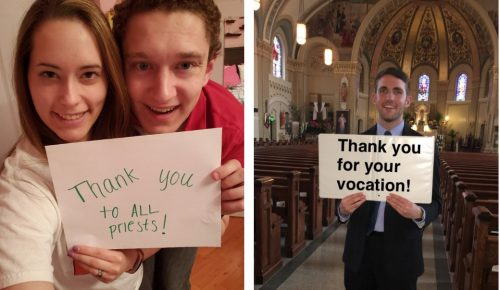 millennial thank catholic priests