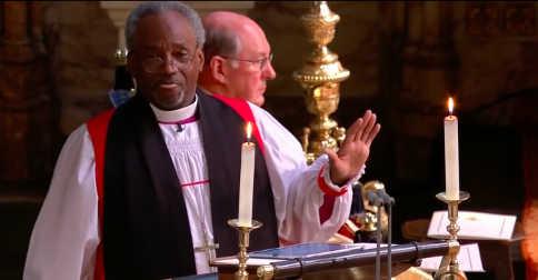 Preacher Royal Wedding sermon