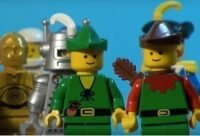 Pentecost explained in Lego Video