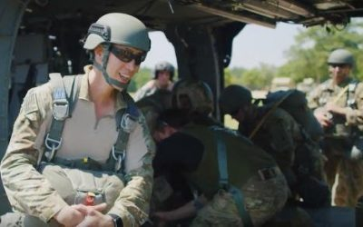 This U.S. Army Special Forces Sergeant Leads Wounded Warriors To Our Lady of Lourdes
