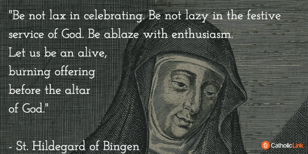 St. Hildegard of Bingen Doctor of the Church