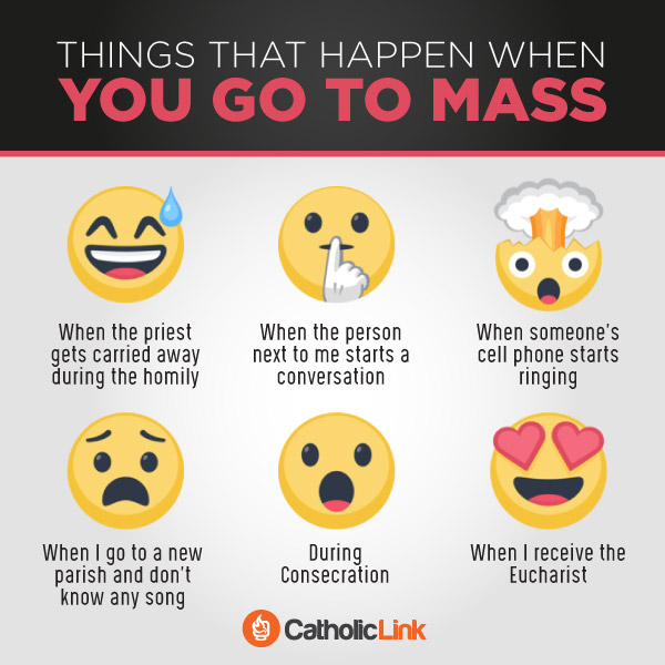 Things that happen when you to Mass infographic quote