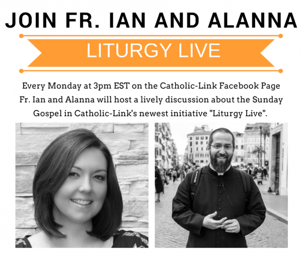 Liturgy Live Fr. Ian and Alanna