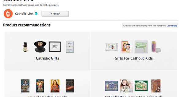 Catholic gifts, Catholic books, Catholic music, Catholic Products, Catholic-Link Amazon Page