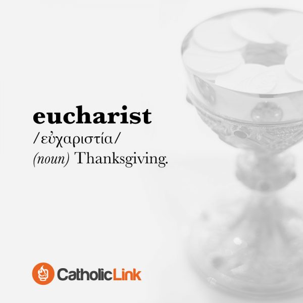 The Meaning Of the word Eucharist