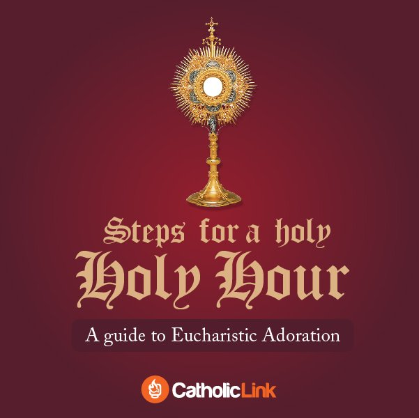 How to Go to Eucharistic Adoration Visual Guide
