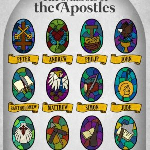 12 apostles symbols